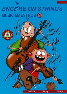 Encore On Strings - Music Maestros 1 Violin / CD - Music Creators Online