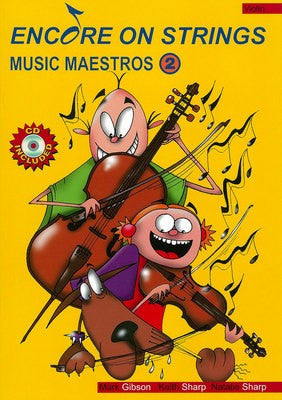 Encore On Strings - Music Maestros 2 Violin / CD - Music Creators Online