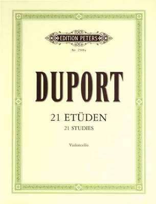 Duport- 21 Studies for Cello - Music Creators Online