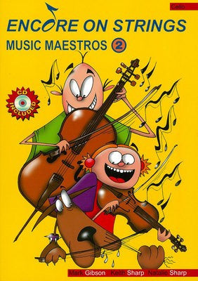 Encore On Strings - Music Maestros 2 Cello / CD - Music Creators Online