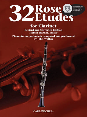 Rose- 32 Etudes for Clarinet - Music Creators Online