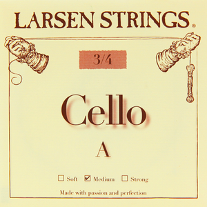Larsen Cello A String- 3/4 (Med)
