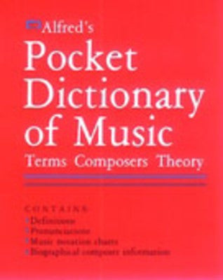 Alfred's Pocket Dictionary of Music - Music Creators Online