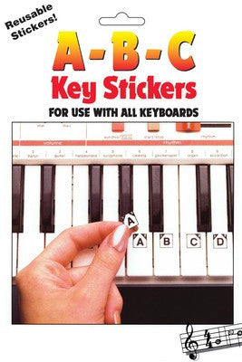 ABC Keyboard Stickers - Music Creators Online