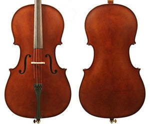 Enrico Student II (3/4 Size) Cello Outfit w Professional Set Up - Music Creators Online