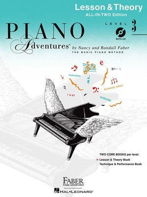 Piano Adventures All-In-Two Level 3