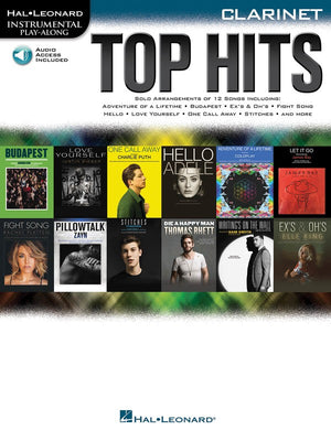 Top Hits - Clarinet - Music Creators Online