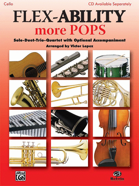 Flex-Ability More Pops- Cello Solo/Duet/Trio/Quartet - Music Creators Online