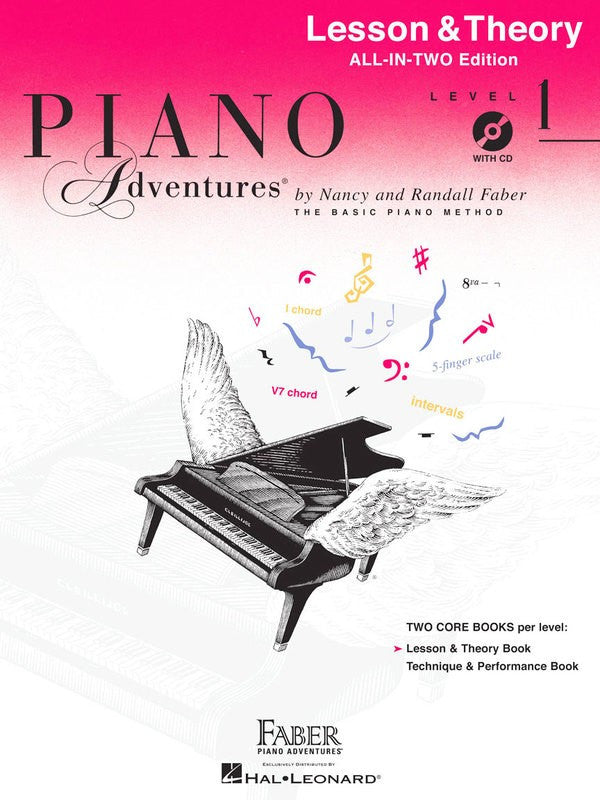 Piano Adventures All-In-Two Level 1 w CD