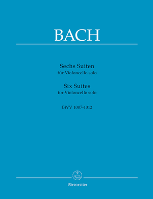J.S. Bach - Six Suites for Cello BWV 1007-1012 - Music Creators Online