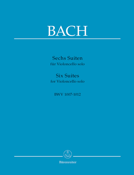 J.S. Bach - Six Suites for Cello BWV 1007-1012