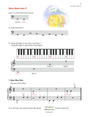 Alfred's Premier Piano Course, Theory 2B - Music Creators Online