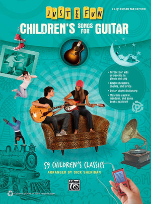 Just for Fun: Children's Songs for Guitar - Music Creators Online