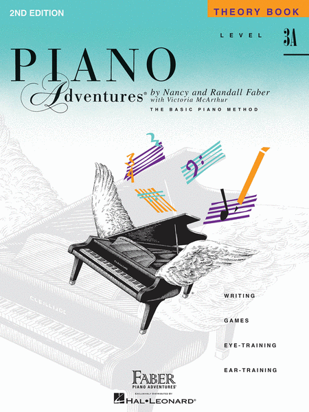 Piano Adventures Level 3A - Theory Book - Music Creators Online