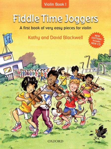 Fiddle Time Joggers: A first book of very easy pieces for violin- Revised edition w CD - Music Creators Online