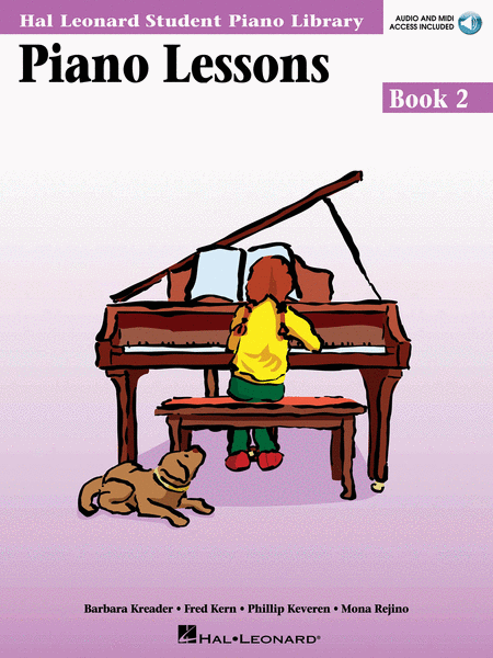 Hal Leonard Student Piano Library: Piano Lessons Book 2  Audio and Midi Access Included - Music Creators Online