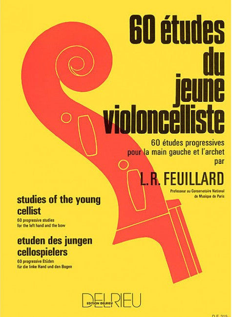 Feuillard- Studies Of The Young Cellist 60 - Music Creators Online