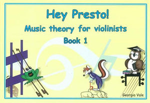 Hey Presto! Music Theory for Violinists Book 1 - Music Creators Online
