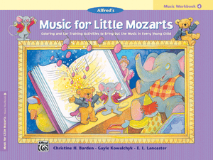 Music for Little Mozarts: Music Workbook 4 - Music Creators Online
