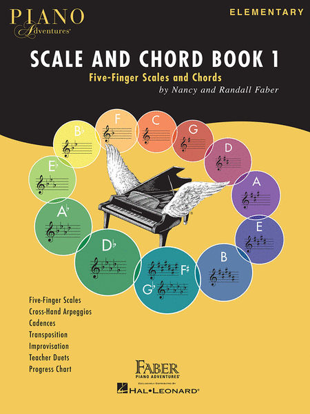 Piano Adventures Scale and Chord Book 1 - Music Creators Online
