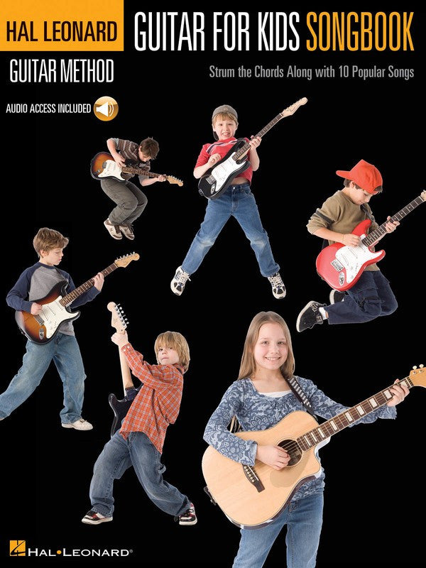 Hal Leonard Guitar For Kids Songbook with CD