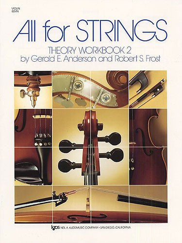 All For Strings Theory 2 Violin - Music Creators Online