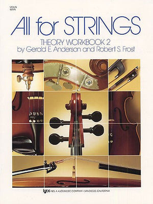 All For Strings Theory 2 Violin