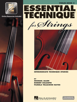 Essential Technique for Strings - Book 3 Violin - Music Creators Online
