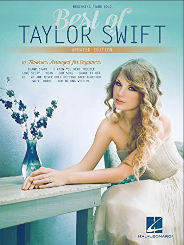Best of Taylor Swift - Updated Edition Beginning Piano Solo - Music Creators Online