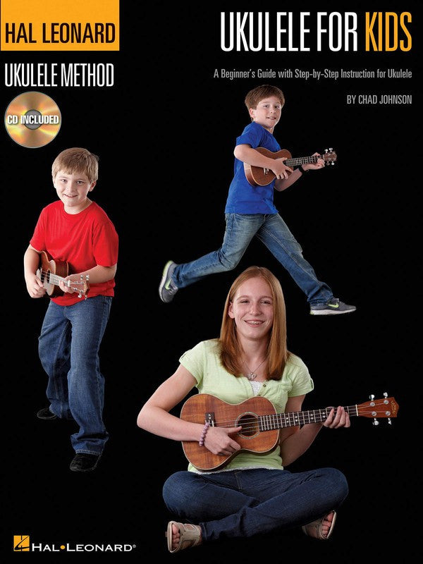 Hal Leonard Ukulele For Kids Method Book/CD - Music Creators Online