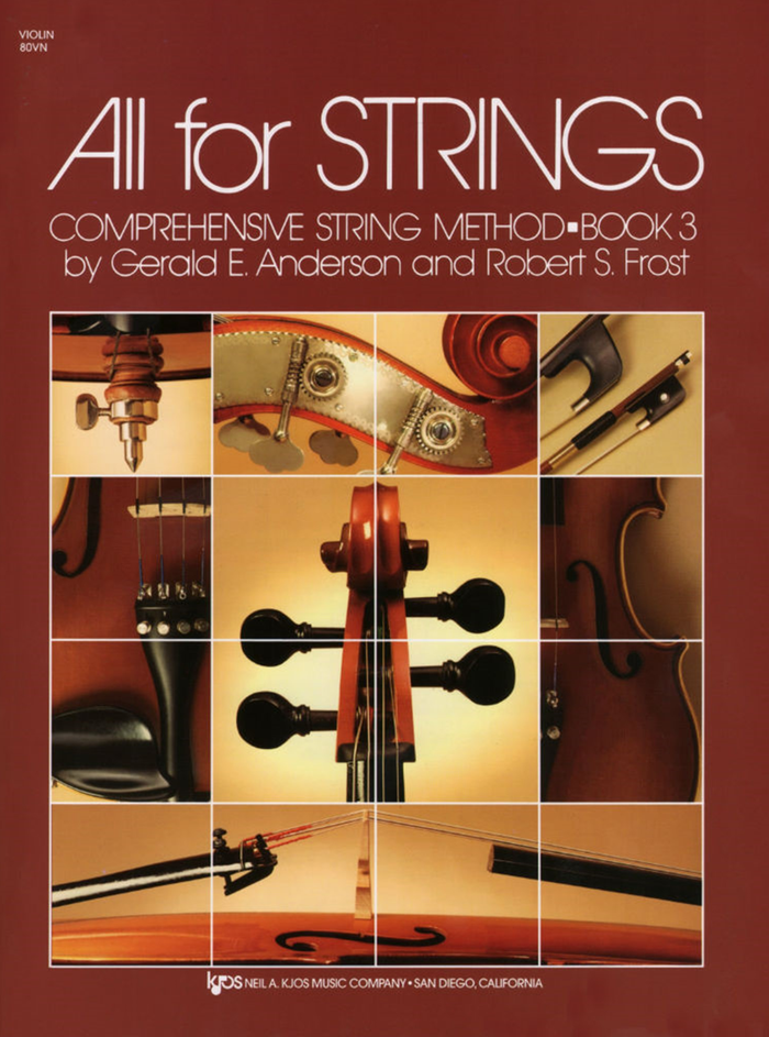 All For Strings Book- Violin 3