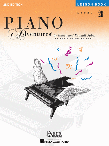 Piano Adventures: Lesson Book 2B w CD (2nd Edition)