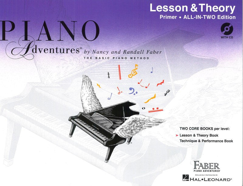 Piano Adventures All-In-Two Primer Level w CD - Music Creators Online