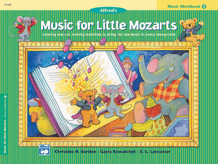 Music for Little Mozarts: Music Workbook 2 - Music Creators Online
