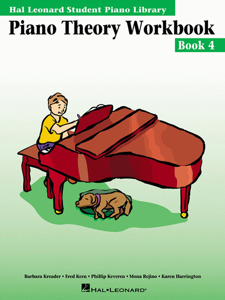 Hal Leonard Student Piano Library:Piano Theory Workbook- Book 4 - Music Creators Online