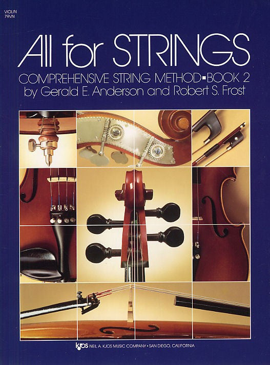 All For Strings Book 2 Violin - Music Creators Online