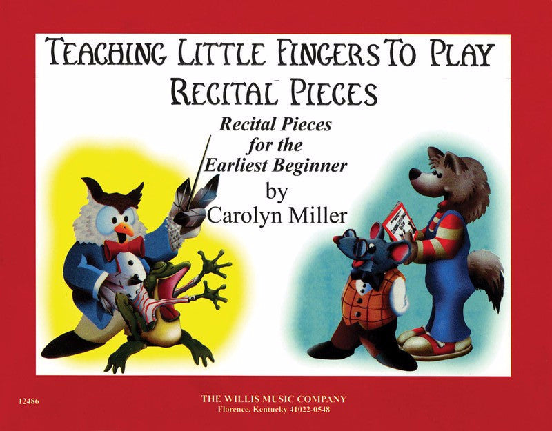 Teaching Little Fingers to Play Recital Pieces - Music Creators Online