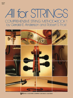 All For Strings Book 1 Violin - Music Creators Online