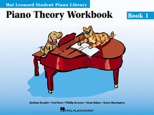 Hal Leonard Student Piano Library:Piano Theory Workbook- Book 1