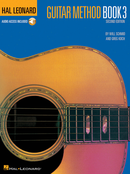 Hal Leonard Guitar Method Book 3 BK/CD - Music Creators Online