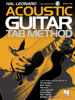 Hal Leonard Acoustic Guitar Tab Method - Book 1 Book with Online Audio - Music Creators Online