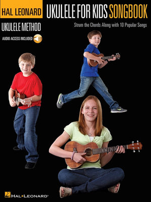 Hal Leonard Ukulele For Kids Songbook Book/CD - Music Creators Online