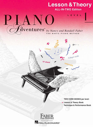 Piano Adventures All-In-Two Level 1 - Music Creators Online