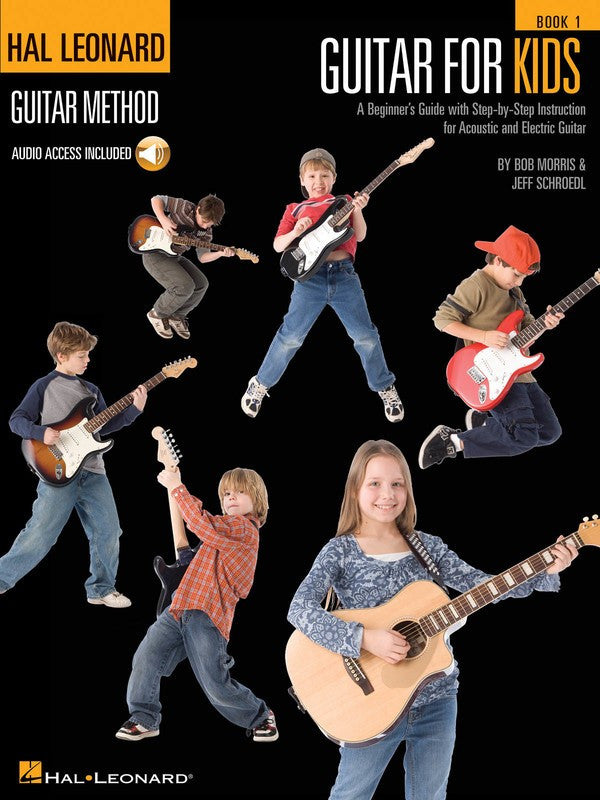 Hal Leonard Guitar for Kids Method Book 1 Book/OLA