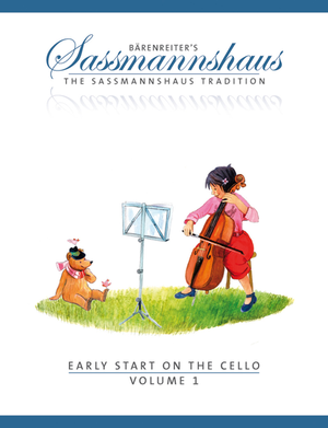 Early Start on the Cello, Volume 1 - Music Creators Online