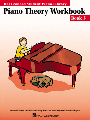 Hal Leonard Student Piano Library:Piano Theory Workbook- Book 5 - Music Creators Online