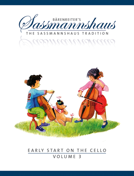 Early Start on the Cello, Volume 3 - Music Creators Online