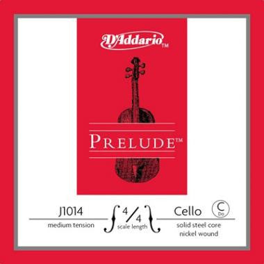 D'Addario Prelude Cello- Single C (Medium Tension) - Music Creators Online
