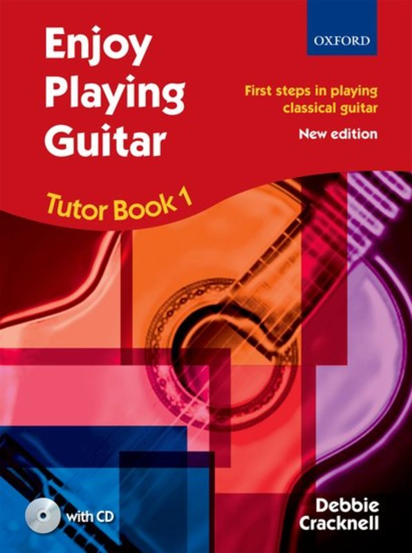 Enjoy Playing Guitar Tutor Book 1 + CD - Music Creators Online