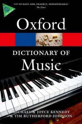 The Oxford Dictionary of Music - Music Creators Online
